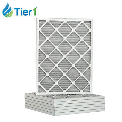 16-3/8x21-1/2x1 Dust and Pollen Merv 8 Replacement AC Furnace Air Filter 6 Pack