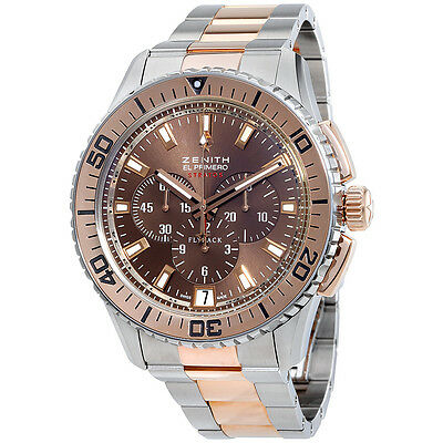 Zenith El Primero Chronograph Automatic Mens Watch 51.2061.405/75.M2060
