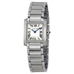 Used Authentic Cartier Tank Francaise Women's Watch