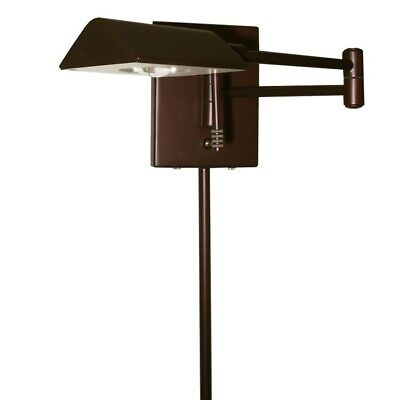 Dainolite LED Swing Arm Wall Lamp w/ Cord Cover, Oil Brushed Bronze 902WLED-OBB