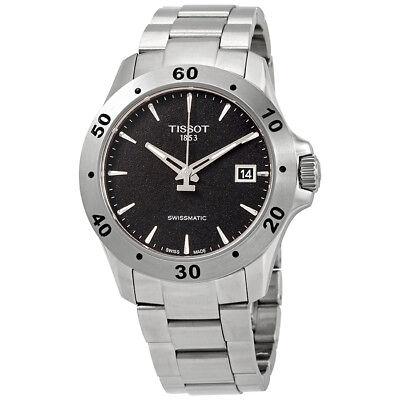 Tissot V8 Automatic Black Dial Mens Watch T1064071105100