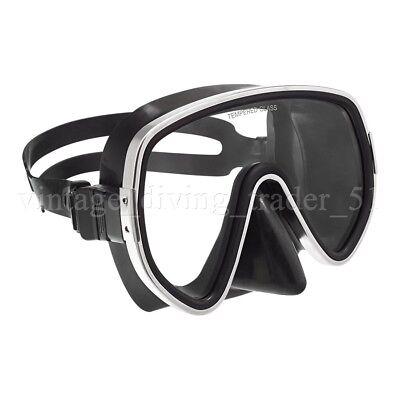 Classic retro Einglas Taucher-Maske Scuba Taucherbrille im Vintage-Style NEU