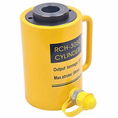 Rch-3050 30t Hydraulic Hollow Hole Cylinder Hydraulic Jack 50mm Stroke
