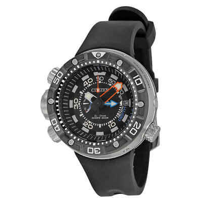 Citizen Promaster Aqualand Depth Meter Eco-Drive Men's Watch BN2029-01E