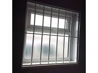 WINDOW & DOOR SECURITY GRILLES, STEEL BARS, ROLLER-SHUTTERS, LOCKING GATES, MESH GRILLES + FITTING