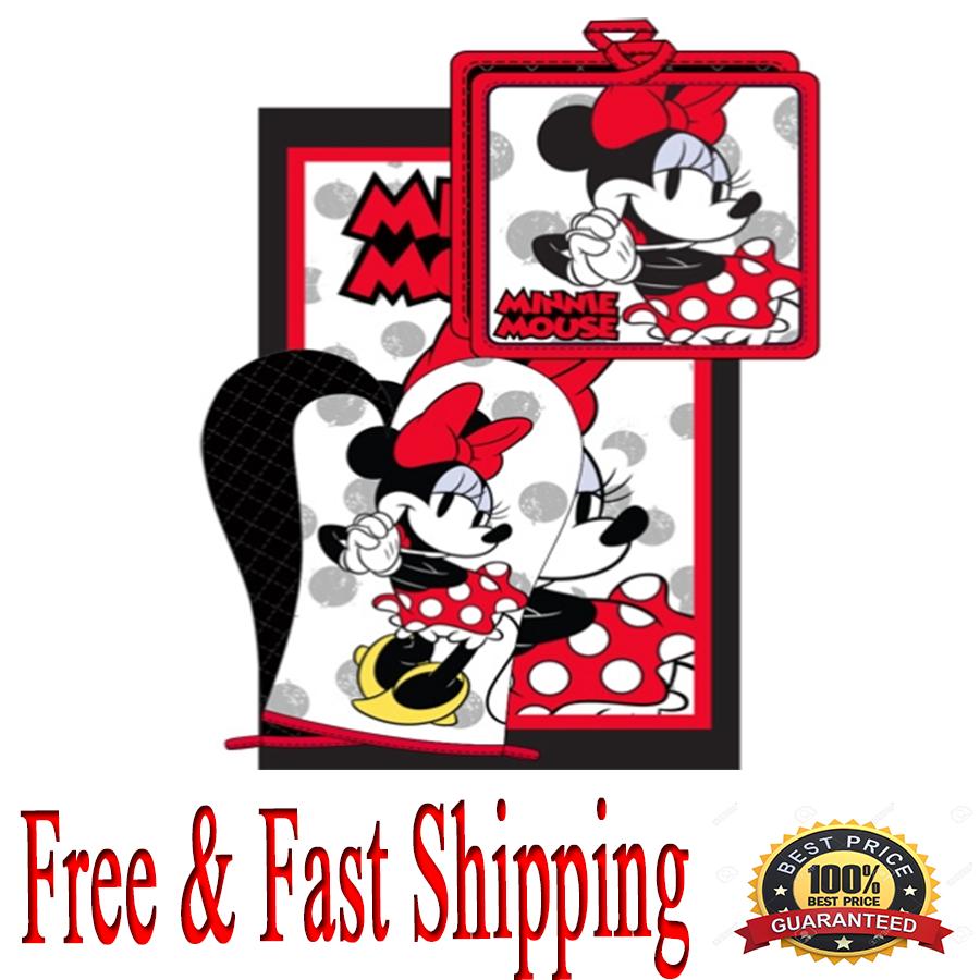 Disney 3pc Kitchen Towel Set Minnie Original