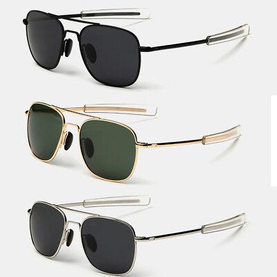 Aviator Sunglasses Premium Military Pilot Ultraviolet Mens Polarized (Military Aviators)