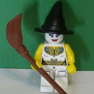 Lego Minifigure - SUPER VAMPIRE WITCH PHAROAH - HAPPY HALLOWEEN