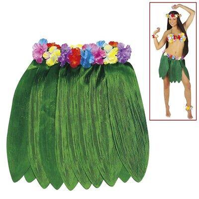 HAWAII BANANENBLATT ROCK Hawaiirock Afrika Südsee Karibik Hula Aloha Kostüm 3375 ()