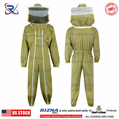 Pilot Beekeeping Suit 3 Layer Ultra Ventilated Extra Ordinary Features Size M