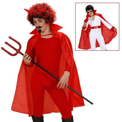 ROTER KINDER TEUFEL UMHANG Halloween Karneval Satan Jungen - Teufel Kostüm Junge