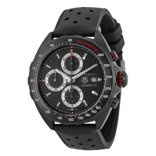 Tag Heuer Formula One Black (Carbide coated) Titanium Mens Watch CAZ2011.FT8024 - watch picture 1
