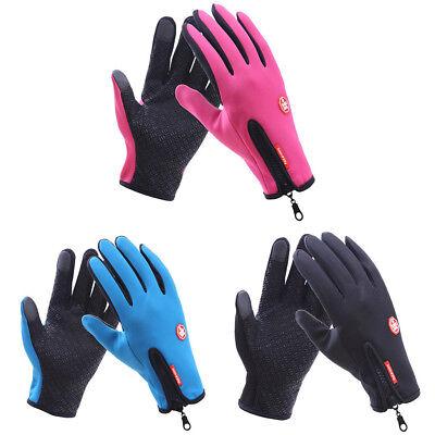 Unisex Winter Handschuhe Warm Thermo Windproof Wasserdicht Finger Touch Screen Finger-touch Screen