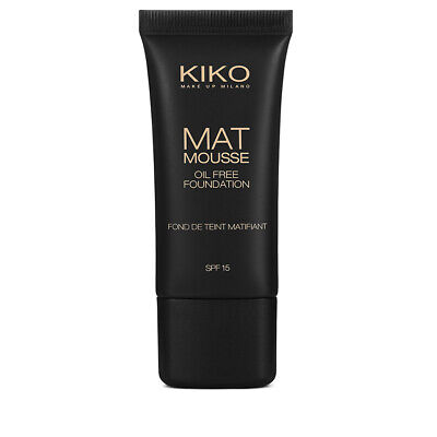 Kiko Milano Mat Mousse Foundation SPF15 - NEW CHOOSE SHADE