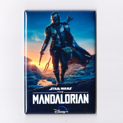 "STAR WARS - THE MANDALORIAN : SEASON 2 - 2"" x 3"" MOVIE POSTER MAGNET jedi disney"