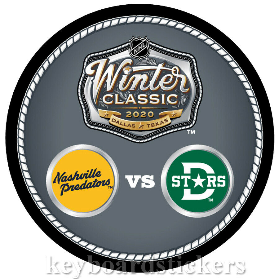 2020 Nhl Winter Classic.Details About 2020 Nhl Winter Classic Dueling Hockey Puck Nashville Predators Vs Dallas Stars