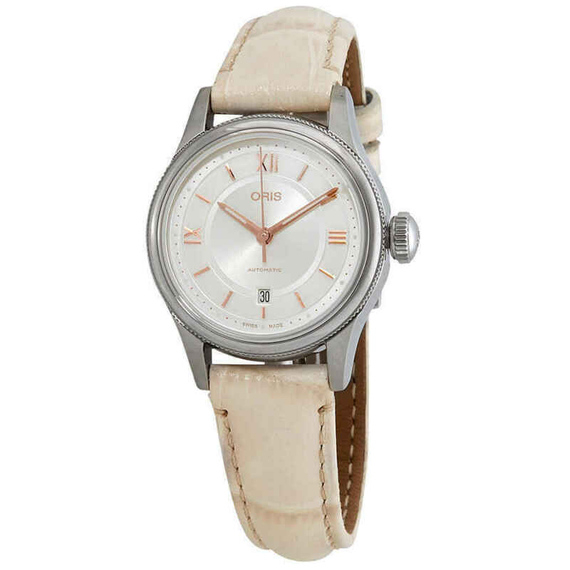 Oris-Classic-Date-Automatic-Silver-Dial-Ladies-Watch-01-561-7718-4071-07-5-14-31