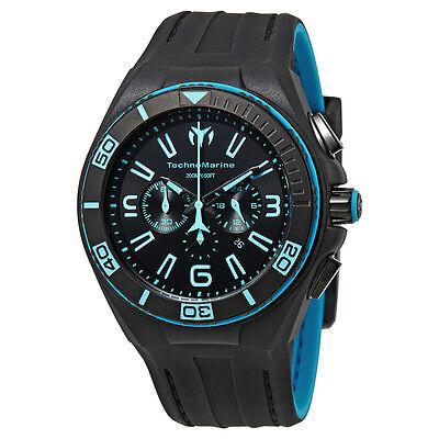 Technomarine Cruise Night Vision Black Dial Mens Watch 115058