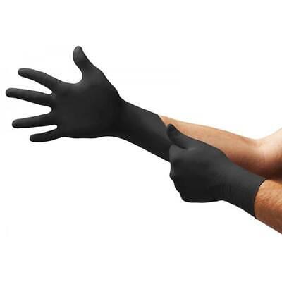 Nitrile Gloves Latex Gloves 50 Pcs Small Medium Large Black Nitrile Protection
