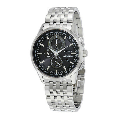 Citizen World Chronograph A-T Eco-Drive Mens Watch AT8110-53E