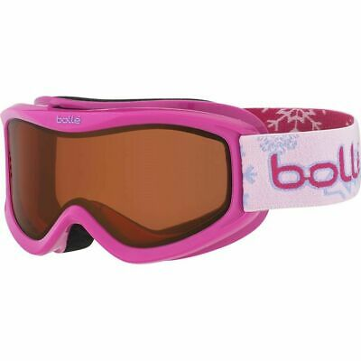 Bolle Kids AMP Goggles Pink Snow Citrus Dark Lens - 21516 (3-8 years old)