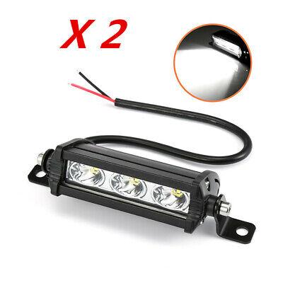 Waterproof 2PCS 30W Car Truck  LED Work Light Bar 3LED Bulb Headlight Fog Lights