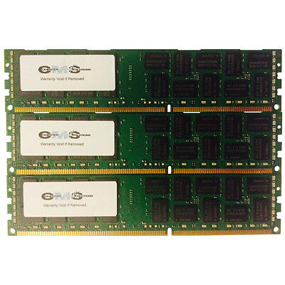 Major Brand 12gb (3x4gb) Memory Ram 4 Ibm System X3650 M3...