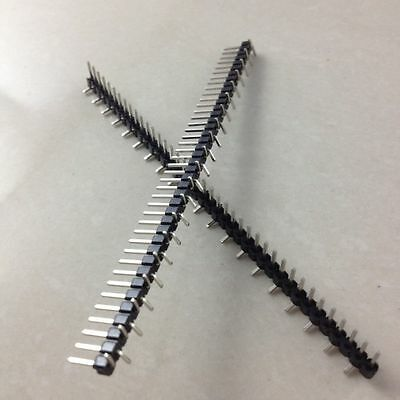 10pcs 140p Smd Smt 140pin 2.54mm Pitch Male Single Row Pin Header Connector