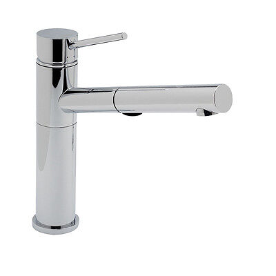 Alta Alta Kitchen Faucet - BLANCO 441401 ALTA Pullout Kitchen Faucet w/ Dual Spray in Polished Chrome