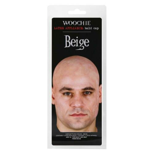 Woochie Beige Bald Cap WO105