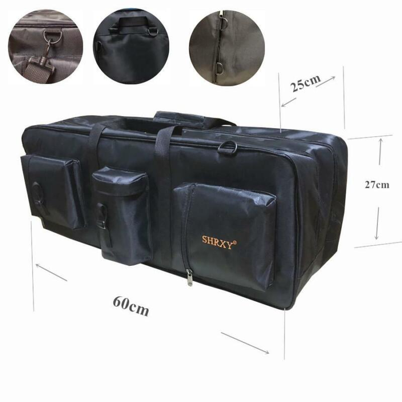 Metal Detector Carrying Black Carry Bag Pouch Case Treasure Hunting Professional