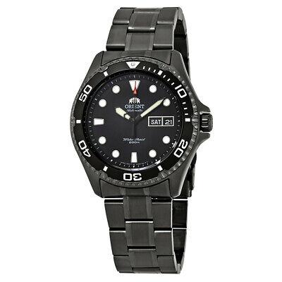 Orient Men's Ray Raven II Automatic Black Stainless Steel Watch FAA02003B9