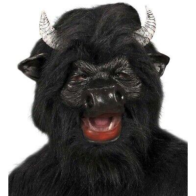 LATEX BULLEN MASKE Stiermaske Stier Ochse Kuh Rinder Tier Kostüm Party Deko 8335