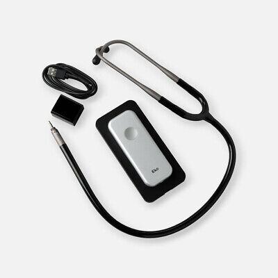 Eko Duo Ecg Digital Stethoscope Wearp In Silver Black