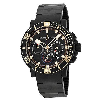 Ulysse Nardin Black Sea Chronograph Watch 353-90-3C