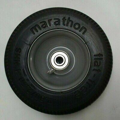 Marathon Flat Free 2.802.50-4 8 Tire Wheel Hand Truck Tire Dolly 12 Bore