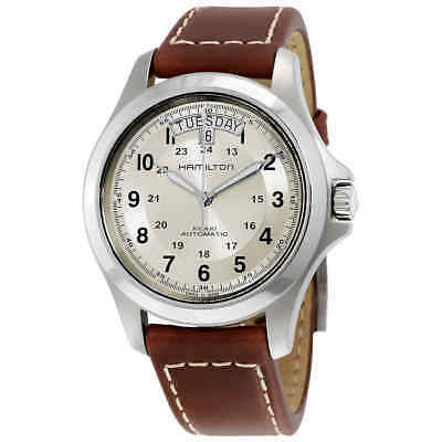 Hamilton Khaki Field King Automatic Silver Dial Men's Watch H64455523