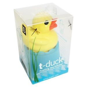 Floating Tea Duck Infuser IS t-duck make favourite brew Strainer Herbal Cup Mug