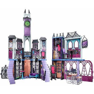 Monster High Deadluxe High School Playset - Wow * Spooky doll house Deluxe