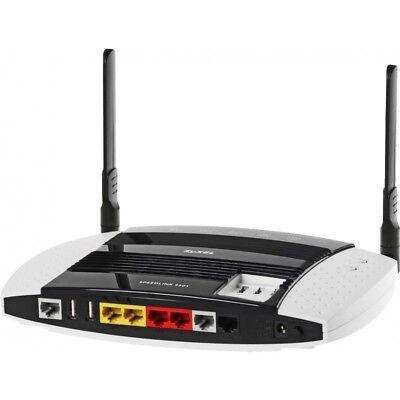 Zyxel Speedlink 5501 VDSL2/ADSL2+ Router Annex J Vectoring WLAN VoIP WANoE