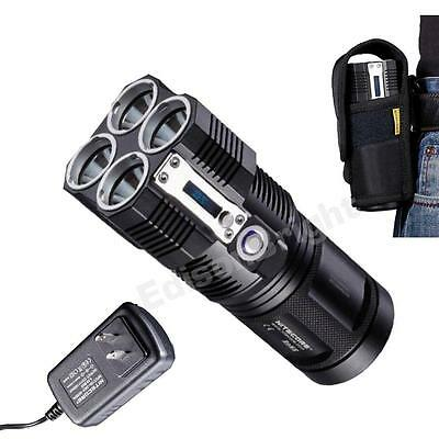 Nitecore TM26 3500 lumen Flashlight/Searchlight Tiny Monster w/ Charger (Nitecore Tm26 Tiny Monster 3500 Lumen Flashlight)