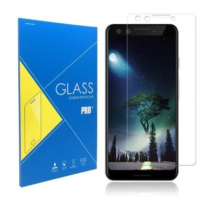 For Google Pixel 3 Flat Surface Premium Clear Tempered Glass Screen Protector  Flat Tempered Glass
