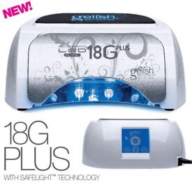 Harmony Gelish 18G led Lamp plus brand new