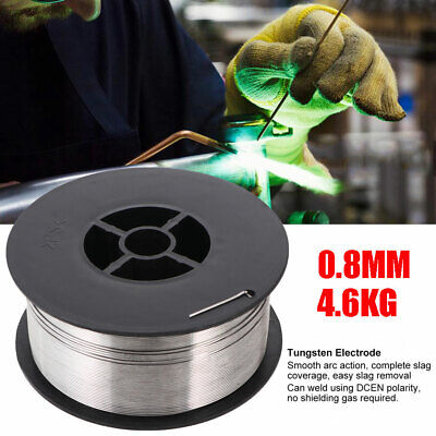 Gasless Stainless Steel Mig Welding Wire Reel Spool Roll Flux Cored 0.03 10-lbs