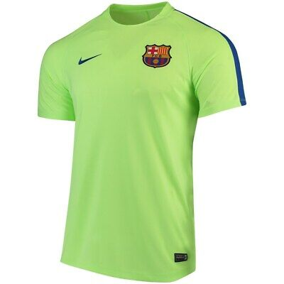 NEW Nike Mens FC Barcelona 2016/17 Pre-Match Training Soccer Jersey Top MEDIUM M Barcelona Training Jersey