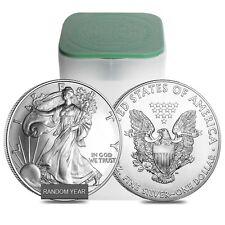 Sale Price - Roll of 20 - 1 oz Silver American Eagle BU (Random Year)