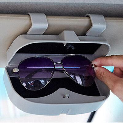 Large Car Sun Visor Case Sunglasses Box Glasses Eyeglass Storage Pouch Gray 1x (Capri Sun Large)