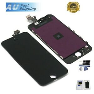 New LCD Screen Replacement Glass Assembly Digitizer For iPhone 5S Black +Tools