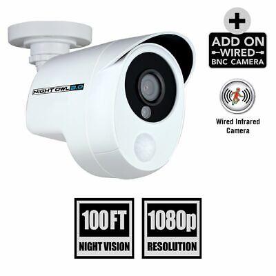 Night Owl 1080p Wired HD Security Camera w/Heat Motion Detection CAM-PIRHDA10W-B