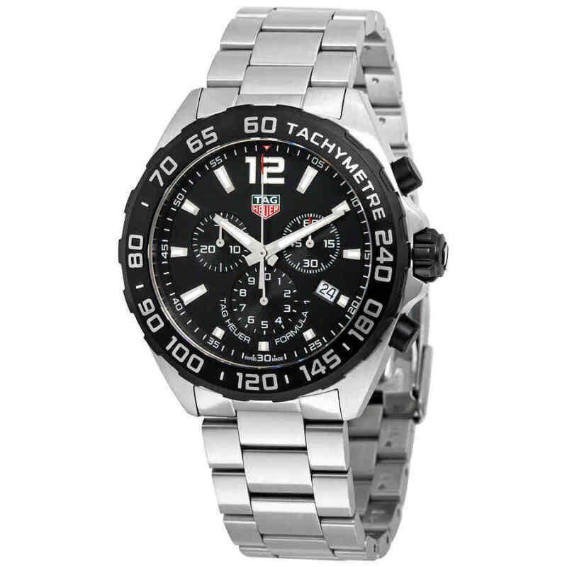 Tag Heuer Formula 1 Chronograph Black Dial Men's Watch CAZ1010.BA0842 - watch picture 1
